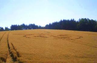 Crop Circle at Benesov, Czech Republic, 28 July 2013