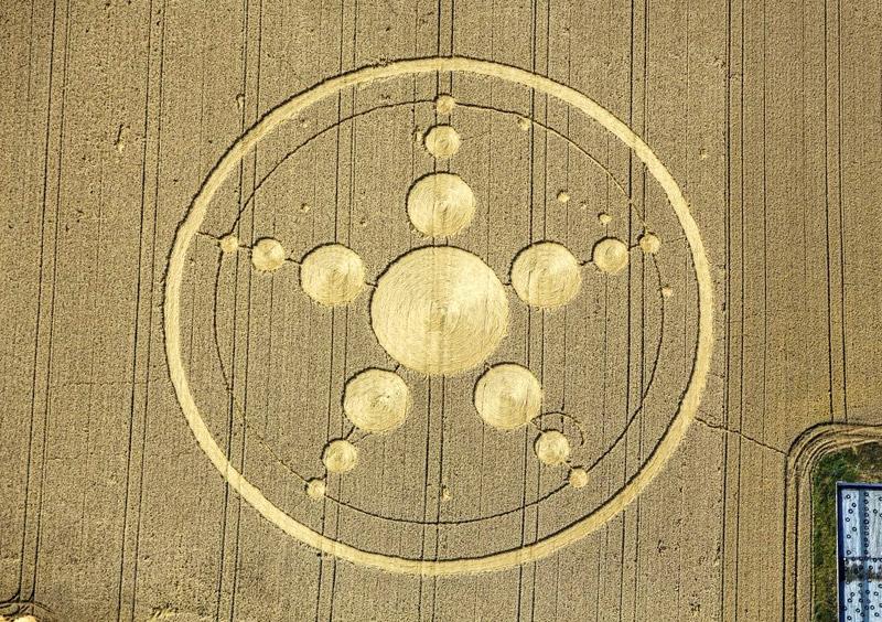 Crop Circle at Haunsheim, Bayern, Germany, 27 July 2013
