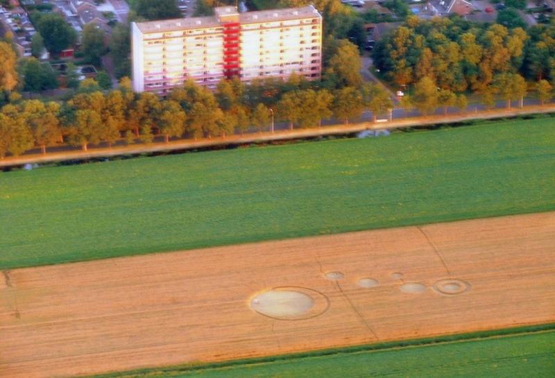 Crop Circle at Stadskanaal, Holland. 29 July 2013